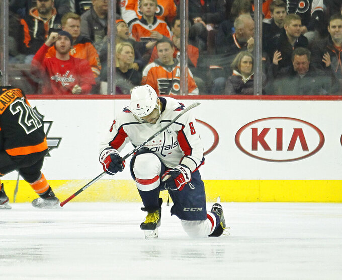 Washington Capitals at Philadelphia Flyers 3/6/2019
