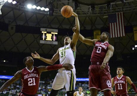 Oklahoma Baylor Basketball