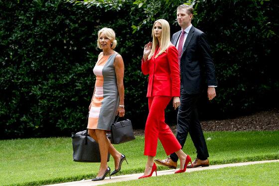 Ivanka Trump, Betsy DeVos, Eric Trump