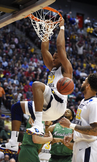 NCAA Marshall West Virginia Basketball