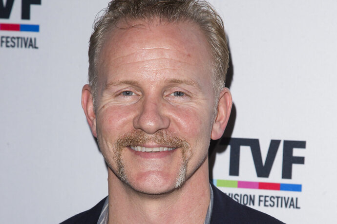 FILE - In this Oct. 20, 2015 file photo, Morgan Spurlock attends the 11th Annual New York Television Festival