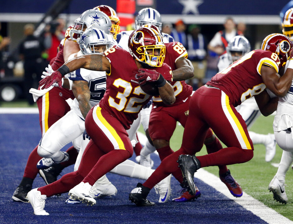 Samaje Perine, Anthony Hitchens