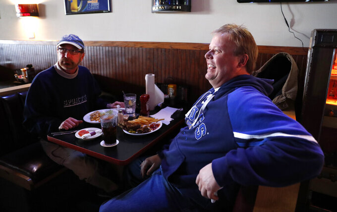 St. Louis blues: Fans watch their old team reach Super Bowl
