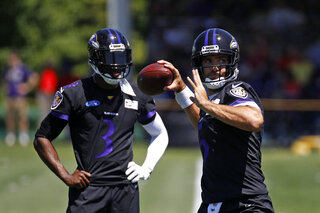 Joe Flacco, Robert Griffin III