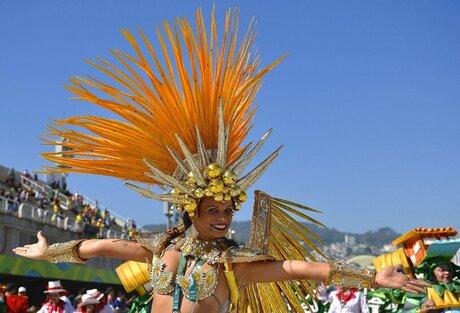 Rio Olympics Samba Dancers