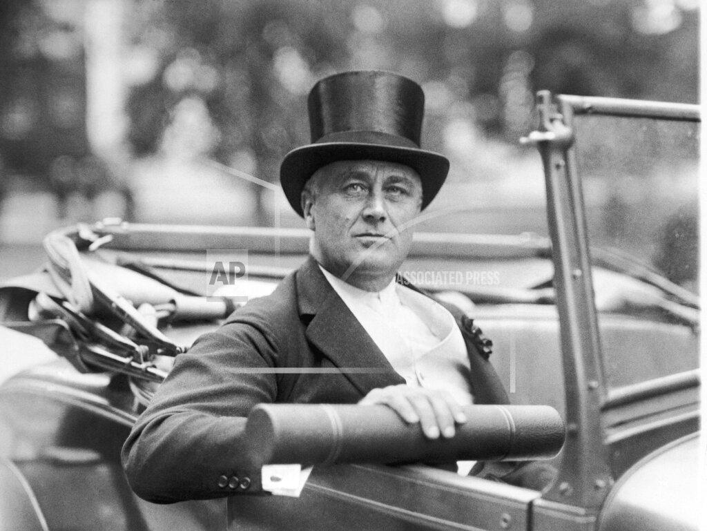Watchf Associated Press Domestic News  Massachusett United States APHS123352 Franklin D Roosevelt