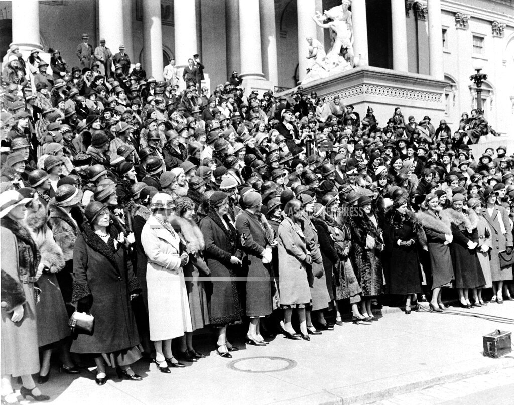 Associated Press Domestic News Dist. of Columbia United States U.S. WOMEN PROTEST PROHIBITION
