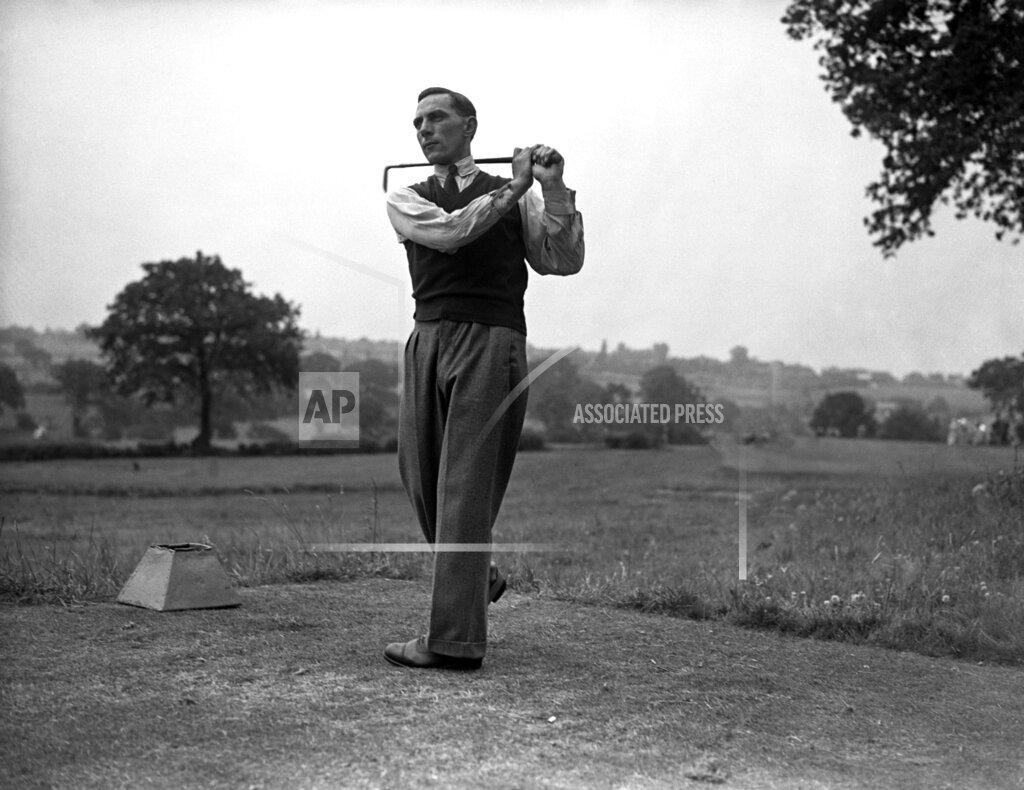 Watchf AP S GLF  GBR XEN APHSL6 Sam King Assistant Professionals Golf Championship 1935