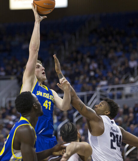 San Jose St Nevada Basketball