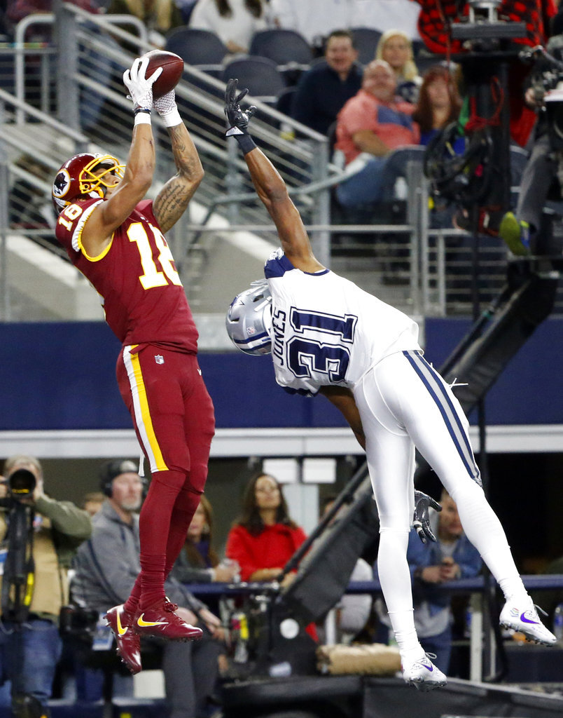 Josh Doctson, Byron Jones