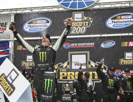 NASCAR Nationwide New Hampshire Auto Racing
