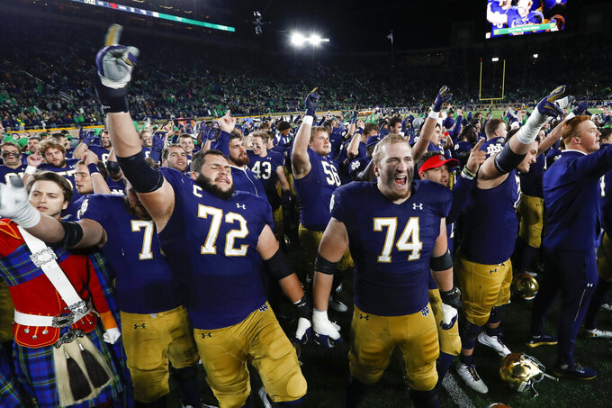 Notre Dame and Michigan aim to resume rivalry after a break