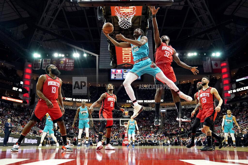 Grizzlies Rockets Basketball
