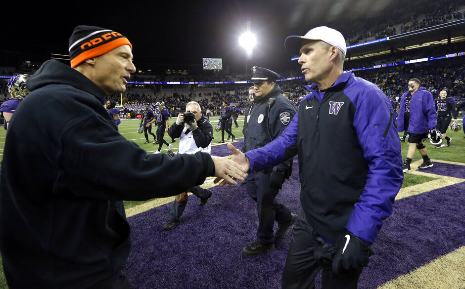 Chris Petersen, Mike Riley