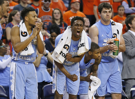 North Carolina Virginia Basketball