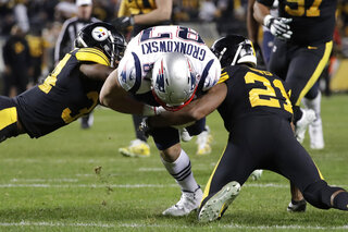 Patriots Steelers Football