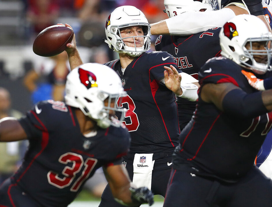 Broncos Cardinals Football