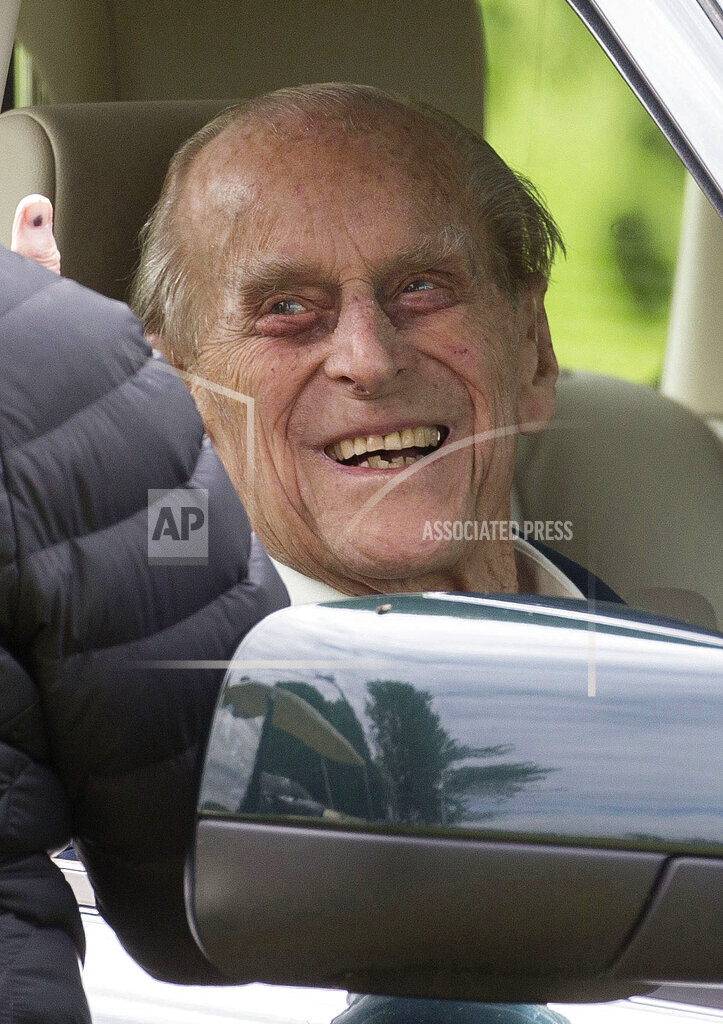 Prince Philip Duke of Edinburgh - 99th Birthday - 6/10/20