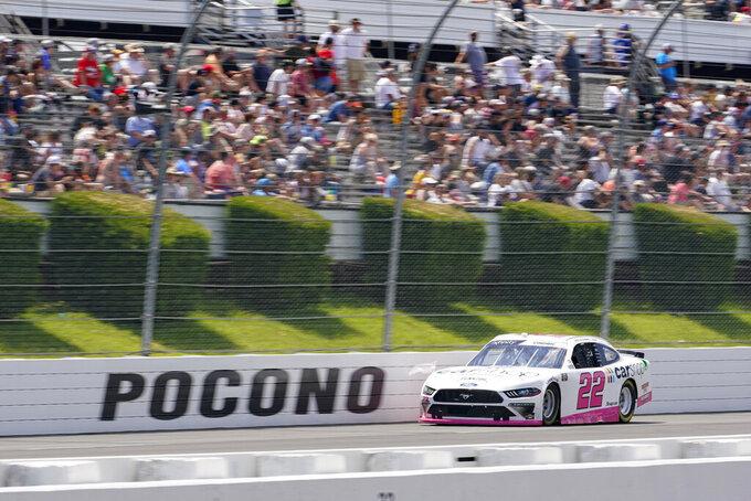 Cindric wins 4th Xfinity Series race of season at Pocono
