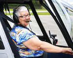Expert aviator Judith Redlawsk has been in the air most of her life, she now flies approximately 700 times a year on top of managing Harsco aviation division, May 2, 2019. At 14, she had her mother sign off on her working papers so she could begin working as a mechanic's helper at Midway Airport. She'd exchange her working hours for air time, she said. By the time she was 16, she had already accumulated over 100 hours of airtime. She got her pilot license that same year. Fittingly, once she was 18 and 23, she obtained her commercial and air transport licensees, respectively.  (Cameron Clark/York Daily Record via AP)