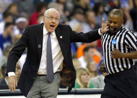 NCAA Syracuse Duke Basketball
