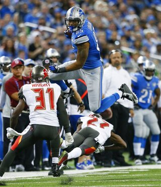 Eric Ebron, Johnthan Banks