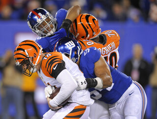 Bengals Giants Football