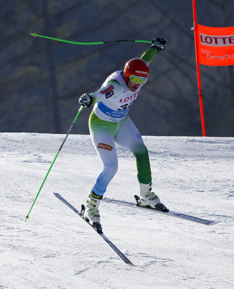 South Korea WCup Men's Downhill Training