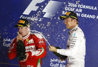 Nico Rosberg, Kimi Raikkonen