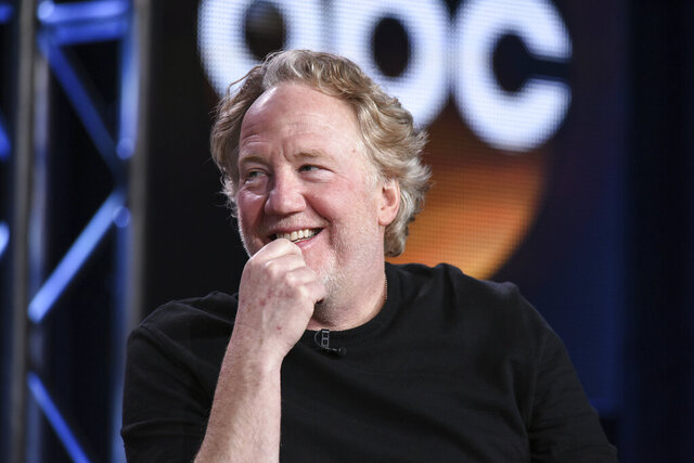 "FILE - This Jan. 14, 2015 file photo shows Timothy Busfield at the Disney/ABC Television Group 2015 Winter TCA in Pasadena, Calif. ABC has given the go-ahead to a pilot for ""thirtysomething(else),"