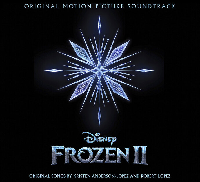 This cover image released by Walt Disney Records shows the original motion picture soundtrack for