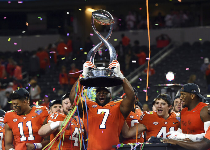 Clemson carrying memories of year's loss into title game