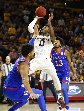 Kansas Arizona St Basketball