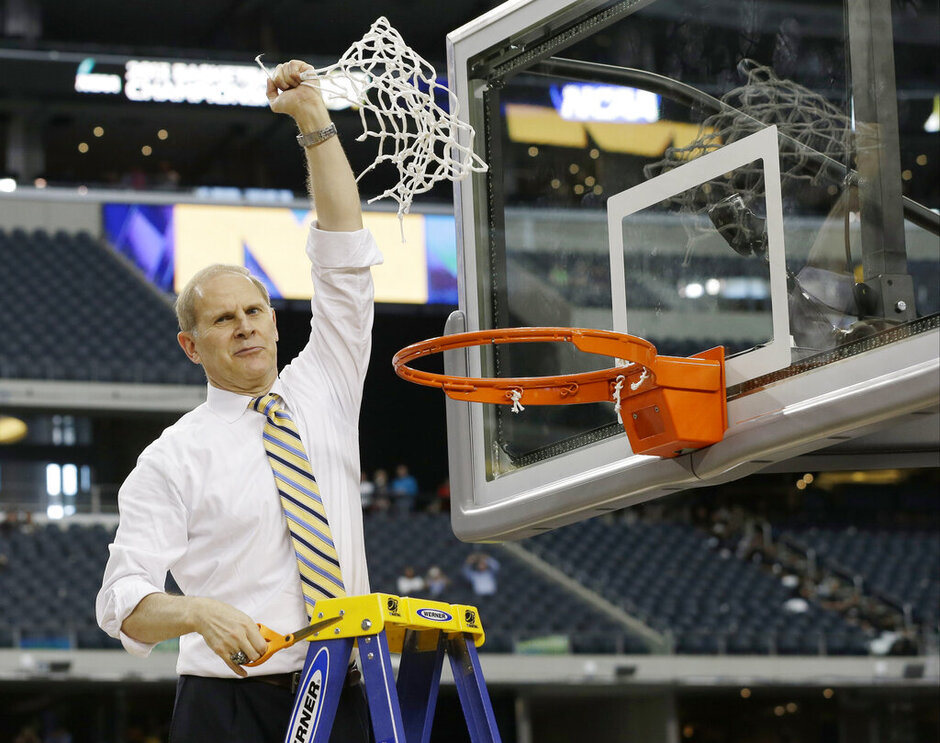NCAA Michigan Florida Basketball