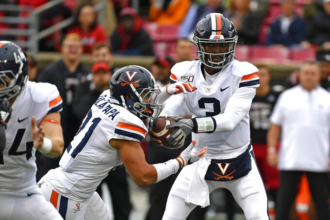 Virginia, UNC meet in key ACC Coastal Division matchup