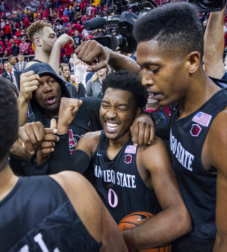 MWC San Diego St New Mexico Basketball