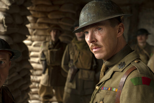 This image released by Universal Pictures shows Benedict Cumberbatch as Colonel Mackenzie in a scene from