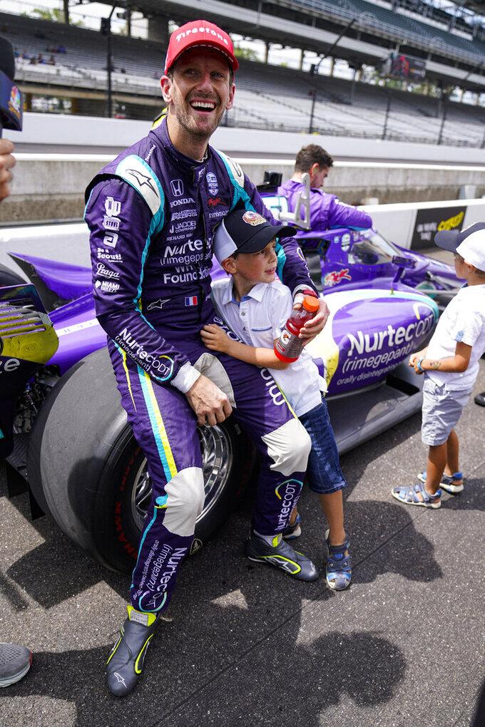 Grosjean successfully knocks down first IndyCar oval