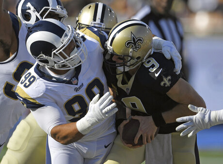 Rams Saints Matchups Football
