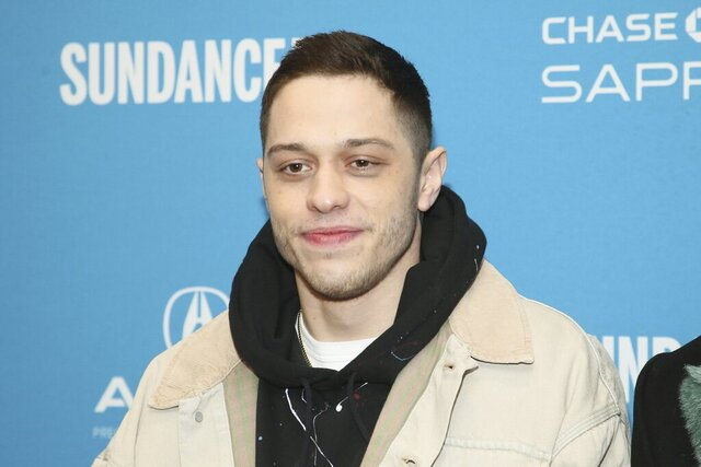 "FILE - This Jan. 28, 2019 file photo shows Pete Davidson during the 2019 Sundance Film Festival in Park City, Utah. Judd Apatow's ""King of Staten Island,"