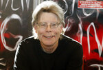 """FILE - In this Nov. 13, 2013 file photo, author Stephen King poses for the cameras, during a promotional tour in Paris. Readers may know him best for """"Carrie,"""" """"The Shining"""" and other bestsellers commonly identified as """"horror,"""" but King has long had an affinity for other kinds of narratives, from science fiction and prison drama to the Boston Red Sox.   (AP Photo/Francois Mori, File)"""