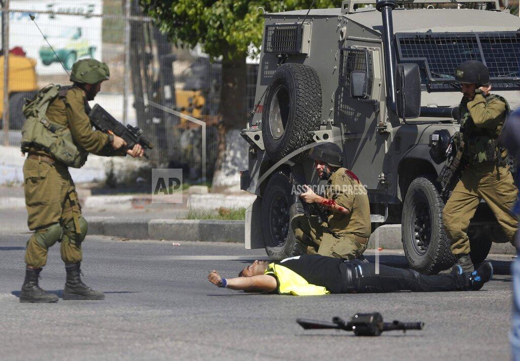 YE Mideast Israel Palestinians