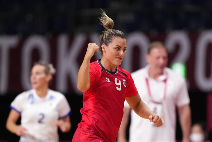 Russia to play France for women's handball gold at Olympics