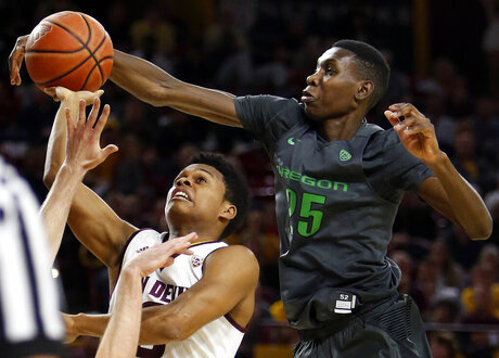 Chris Boucher, Tra Holder
