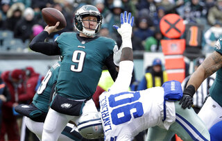 Nick Foles, DeMarcus Lawrence