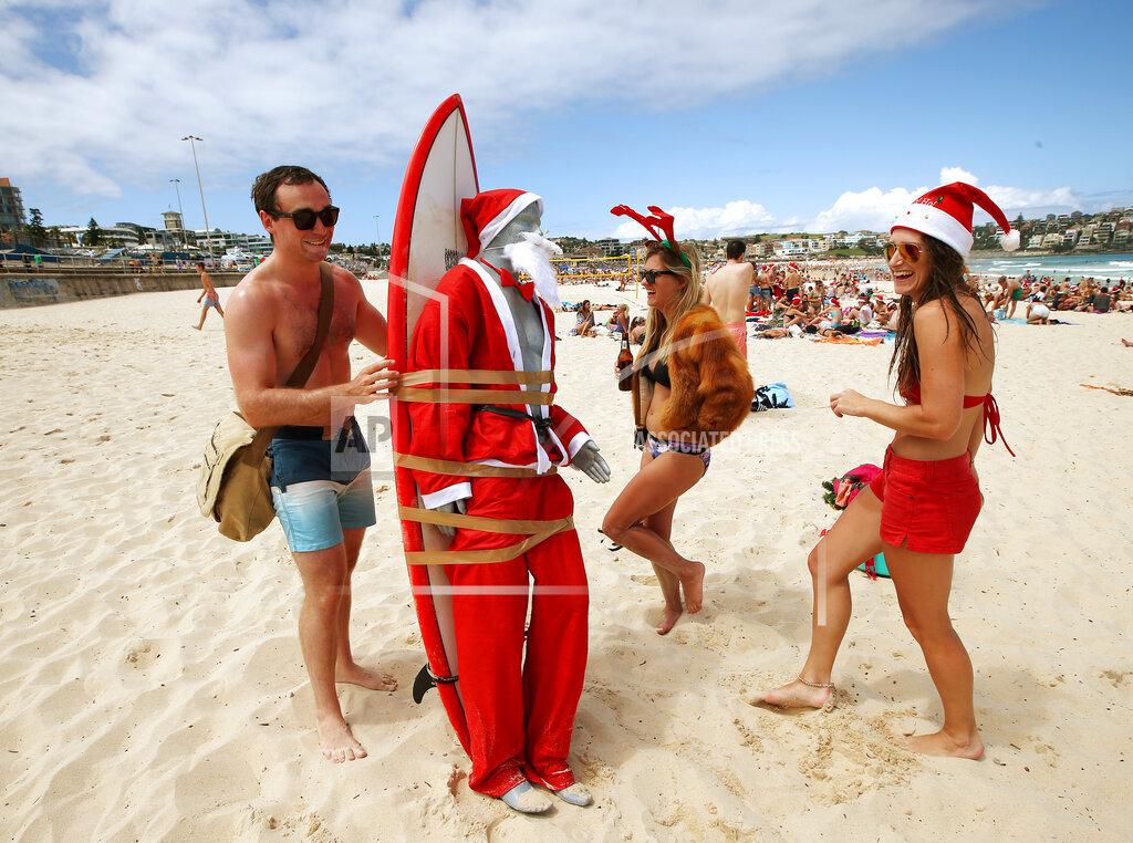 Australia Bondi Beach Christmas