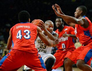 Dayton Georgia Tech Basketball