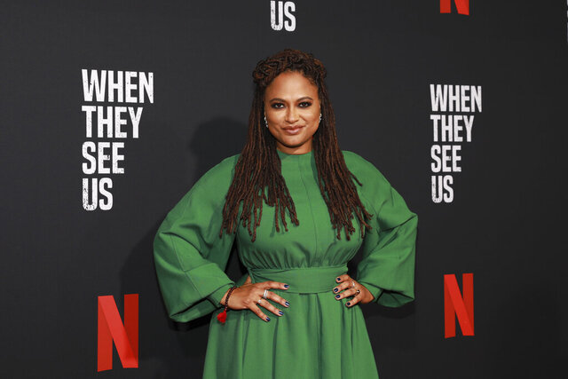 FILE - This Aug. 11, 2019 file photo shows director Ava Duvernay at the