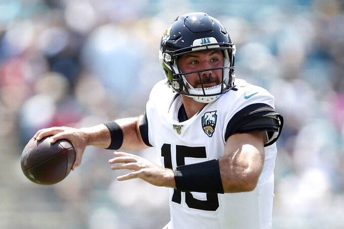 Jaguars QB Minshew prepares for 1st NFL start against Texans