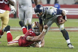 Justin Smith, Russell Wilson